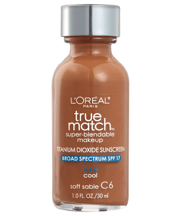 L'Oreal Rostro C6 - SOFT SABLE True Match Super-Blendable Foundation 30ml