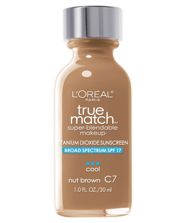 L'Oreal Rostro C7 - NUT BROWN True Match Super-Blendable Foundation 30ml