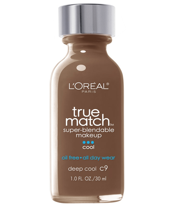 L'Oreal Rostro C9 - DEEP COOL True Match Super-Blendable Foundation 30ml