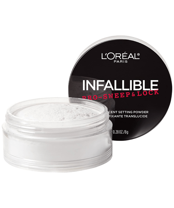 L'Oreal Rostro Infallible Pro-Sweep & Lock Loose Setting Face Powder 8g