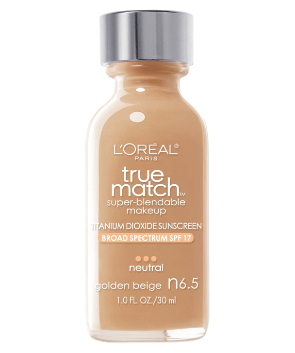 L'Oreal Rostro N6.5 - GOLDEN BEIGE True Match Super-Blendable Foundation 30ml
