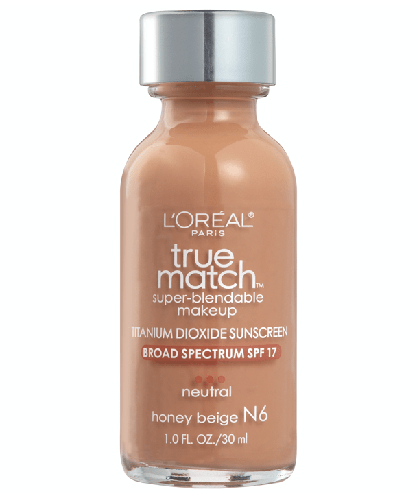 L'Oreal Rostro N6 - HONEY BEIGE True Match Super-Blendable Foundation 30ml