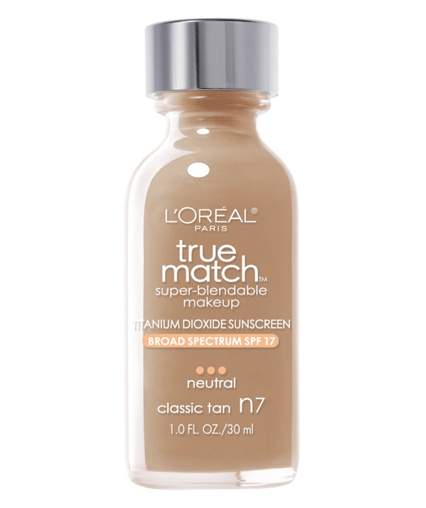 L'Oreal Rostro N7 - CLASSIC TAN True Match Super-Blendable Foundation 30ml
