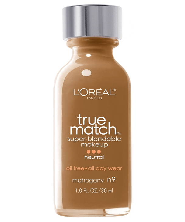 L'Oreal Rostro N9 - MAHOGANY True Match Super-Blendable Foundation 30ml