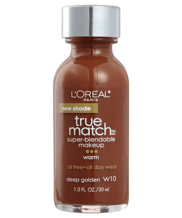L'Oreal Rostro W10 - DEEP GOLDEN True Match Super-Blendable Foundation 30ml