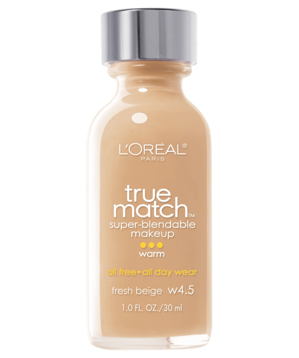 L'Oreal Rostro W4.5 - FRESH BEIGE True Match Super-Blendable Foundation 30ml