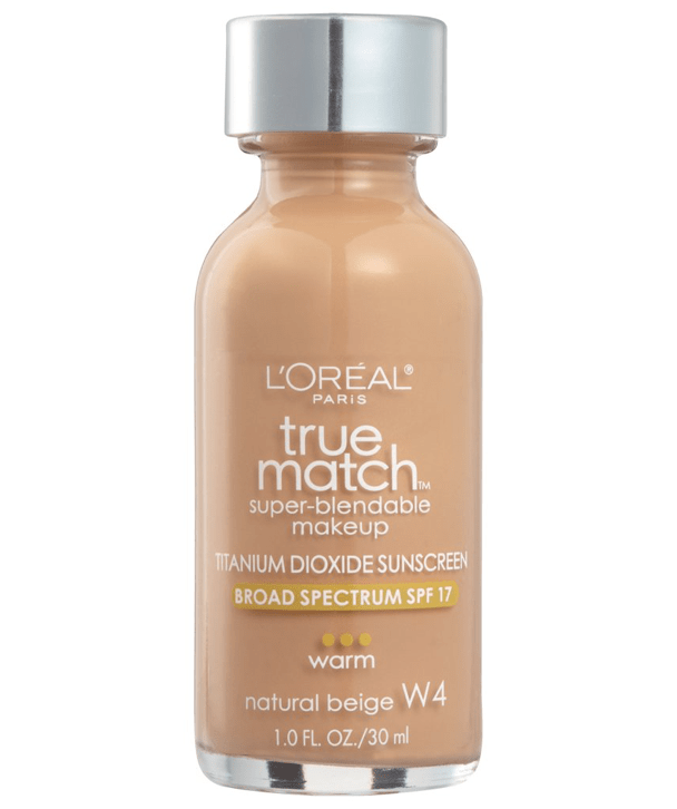 L'Oreal Rostro W4 - NATURAL BEIGE True Match Super-Blendable Foundation 30ml