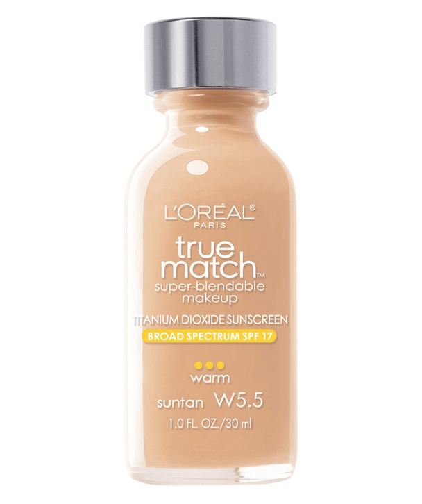 L'Oreal Rostro W5.5 - SUNTAN True Match Super-Blendable Foundation 30ml