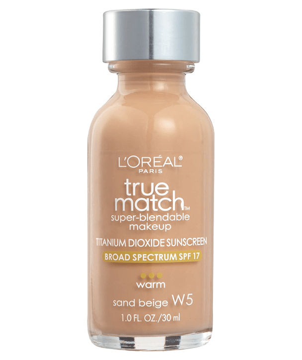 L'Oreal Rostro W5 - SAND BEIGE True Match Super-Blendable Foundation 30ml