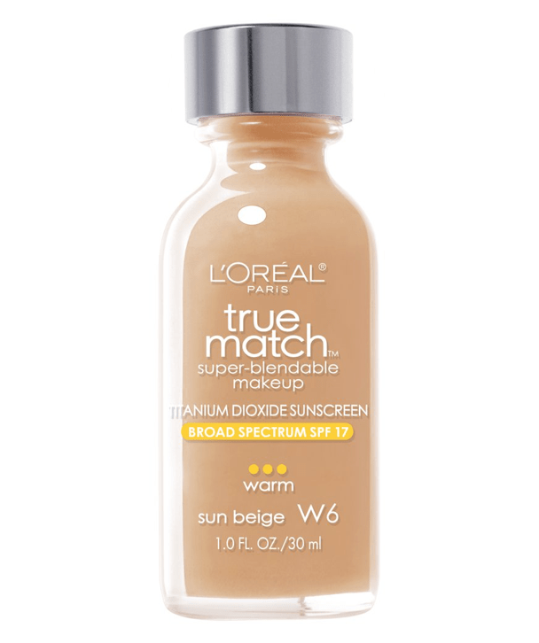 L'Oreal Rostro W6 - SUN BEIGE True Match Super-Blendable Foundation 30ml