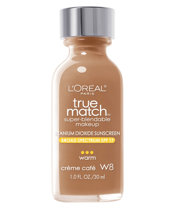 L'Oreal Rostro W8 - CREME CAFE True Match Super-Blendable Foundation 30ml