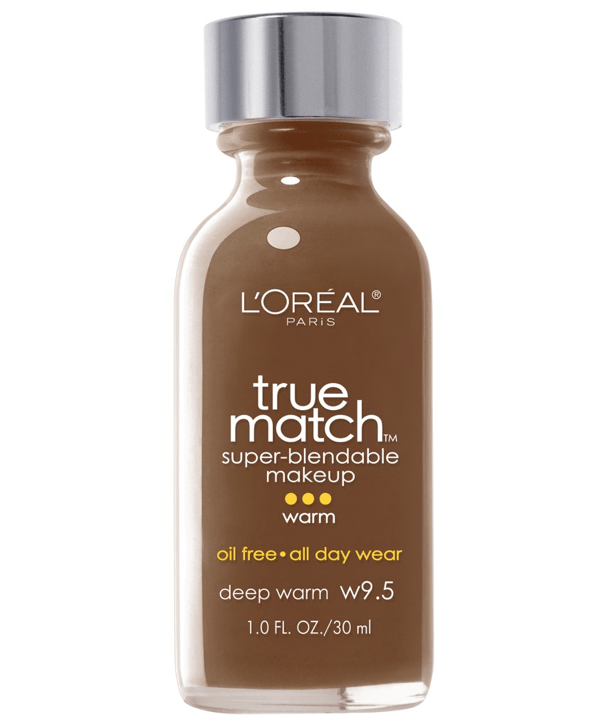 L'Oreal Rostro W9.5 - DEEP WARM True Match Super-Blendable Foundation 30ml