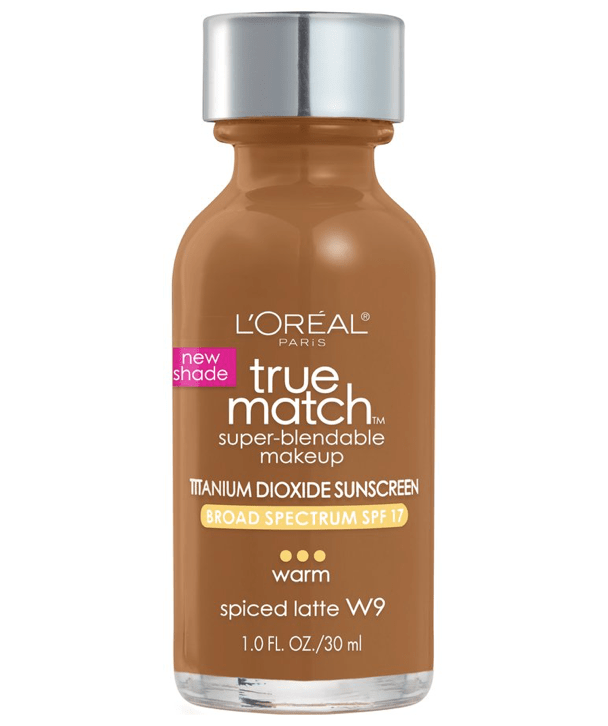 L'Oreal Rostro W9 - SPICED LATTE True Match Super-Blendable Foundation 30ml