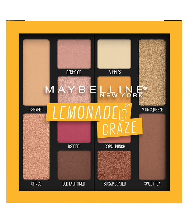 Maybelline New York Ojos LEMONADE CRAZE Lemonade Craze Eyeshadow Palette