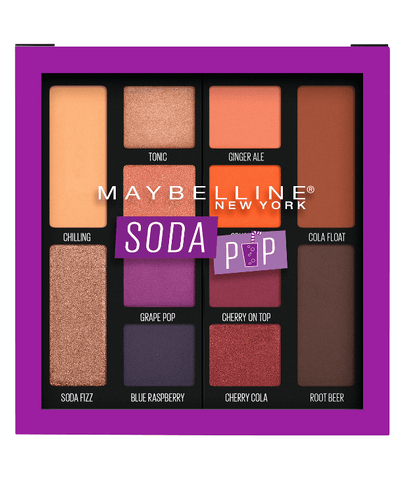 Maybelline New York Ojos SODA POP Soda Pop Eyeshadow Palette