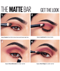 Maybelline New York Ojos THE MATTE BAR The Matte Bar Eyeshadow Palette