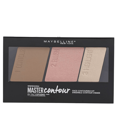 Maybelline New York Rostro LIGHT TO MEDIUM FaceStudio® Master Contour Face Contouring Kit