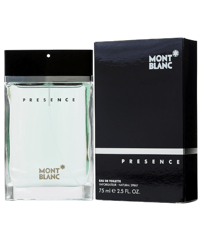 Mont Blanc Fragancias Presence Homme EDT 75ml Spray