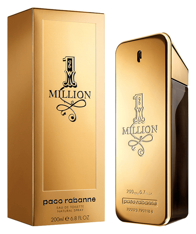 Paco Rabanne Fragancias 1 Million Men EDT 200ml Spray
