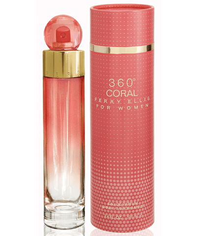 Perry Ellis Fragancias 360˚ Coral For Woman EDP 100ml Spray C298-038