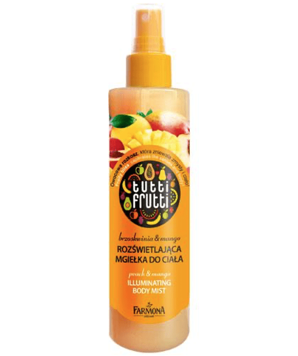 Tutti Frutti Body Splash Peach & Mango Iluminating Body Mist 200ml