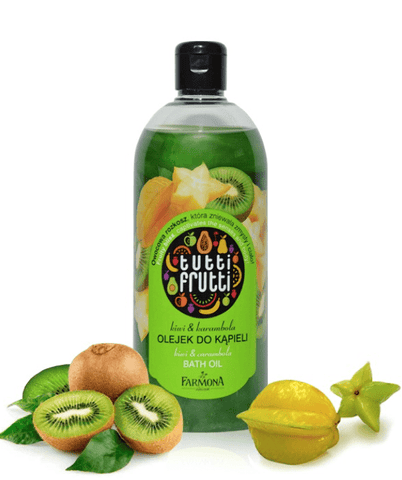 Tutti Frutti Shower Gel Kiwi & Karambola Bath & Shower Oil 500ml