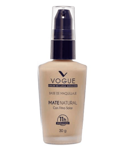 Vogue Cosméticos Rostro ARENA Base Líquida Mate Natural