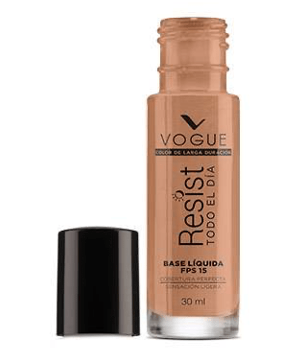 Vogue Cosméticos Rostro Base Líquida Resist 30ml