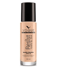 Vogue Cosméticos Rostro GLAMOUR Base Líquida Resist 30ml
