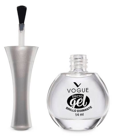 Vogue Cosméticos Uñas Brillo Diamante Efecto Gel 14ml