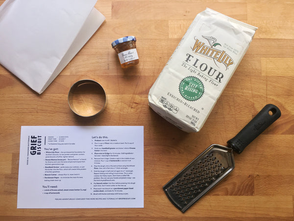 Grief Biscuit Kit :: You Can Bake Your Way Through This