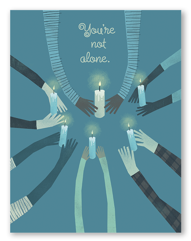 You're Not Alone | 6-pack | C18H-NOT