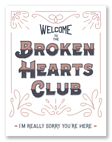 Broken Hearts Club | Single Card