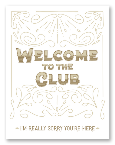 Welcome to the Club | Single Card