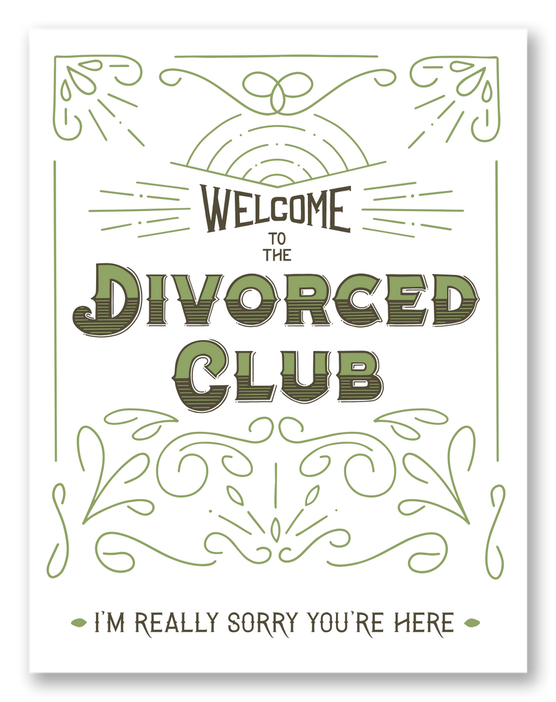 Divorced Club | Single Card