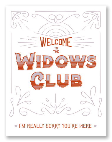 Widows Club | Single Card