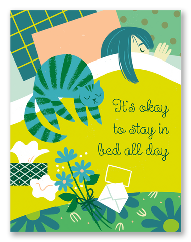 Stay In Bed | Single Card