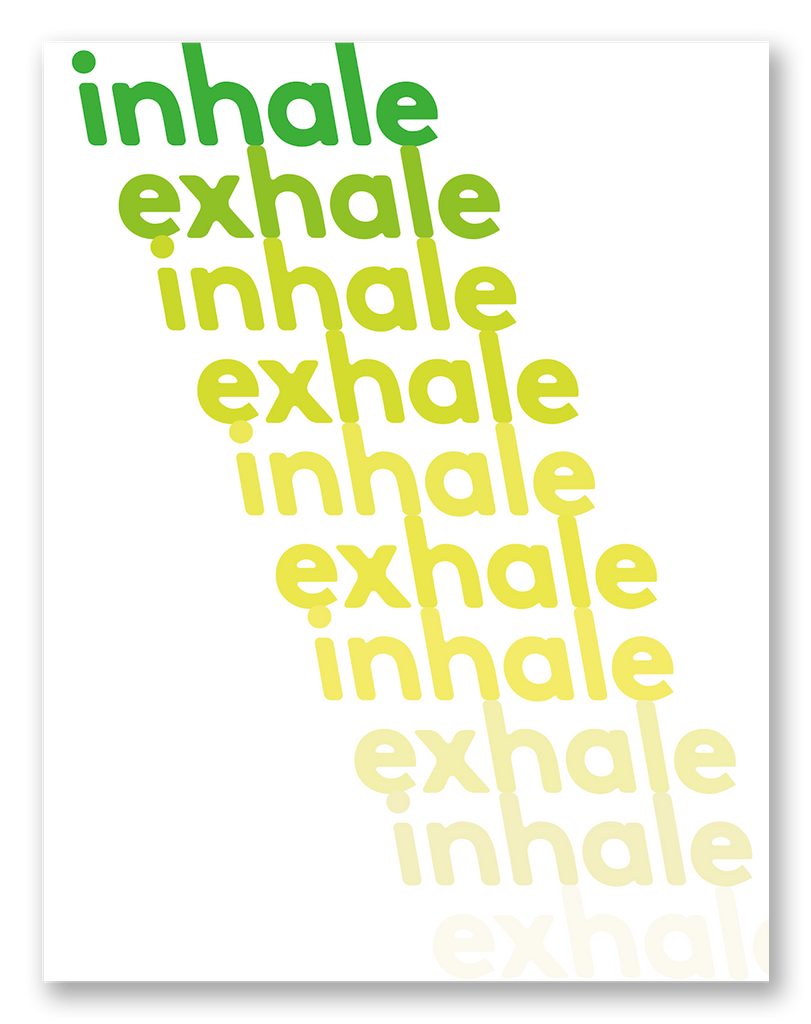 Inhale Exhale Self-Care Sympathy Card | 6-Pack | C17R-EXH