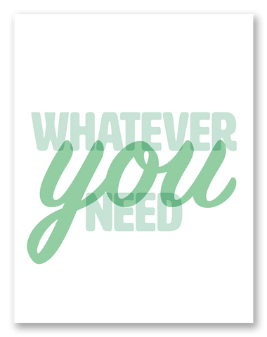 Whatever You Need Sympathy Card | 6-Pack | C17R-WHA