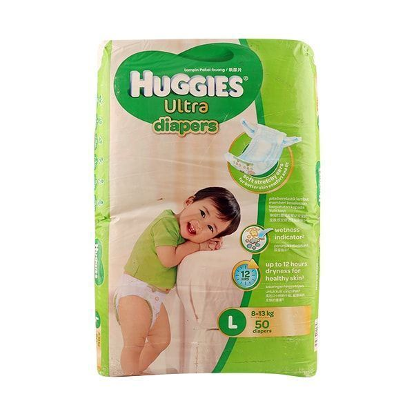 Ultra Jumbo Diapers L - 34pcs