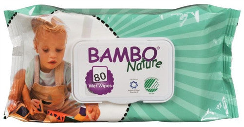 Bambo Nature Wet Wipes - 80's