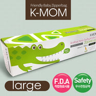 K-Mom Zipperbag Large (28cm x 24cm) 15pcs