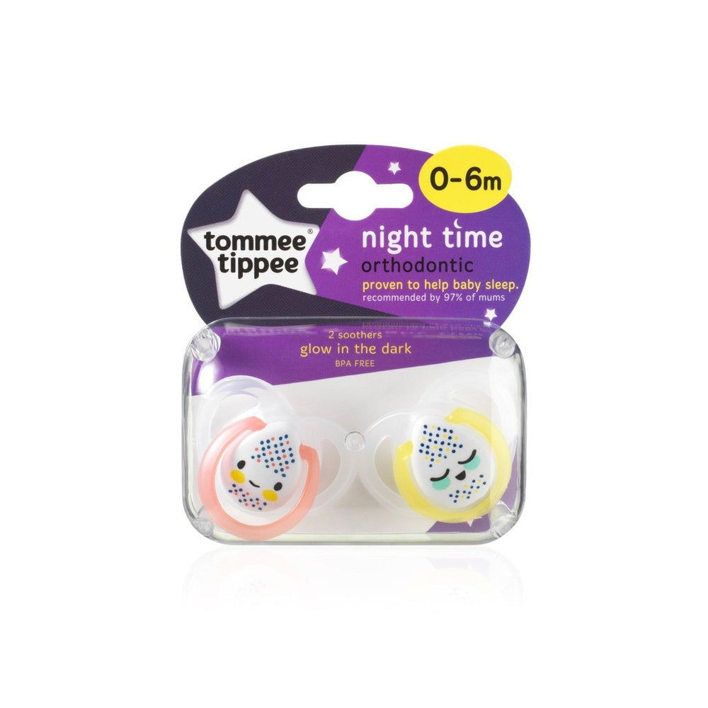 Tommee Tippee Night Time Soother (0-6m) ON CLEARANCE