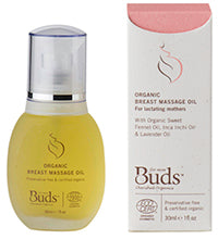 Buds Organic Breast Massage Oil
