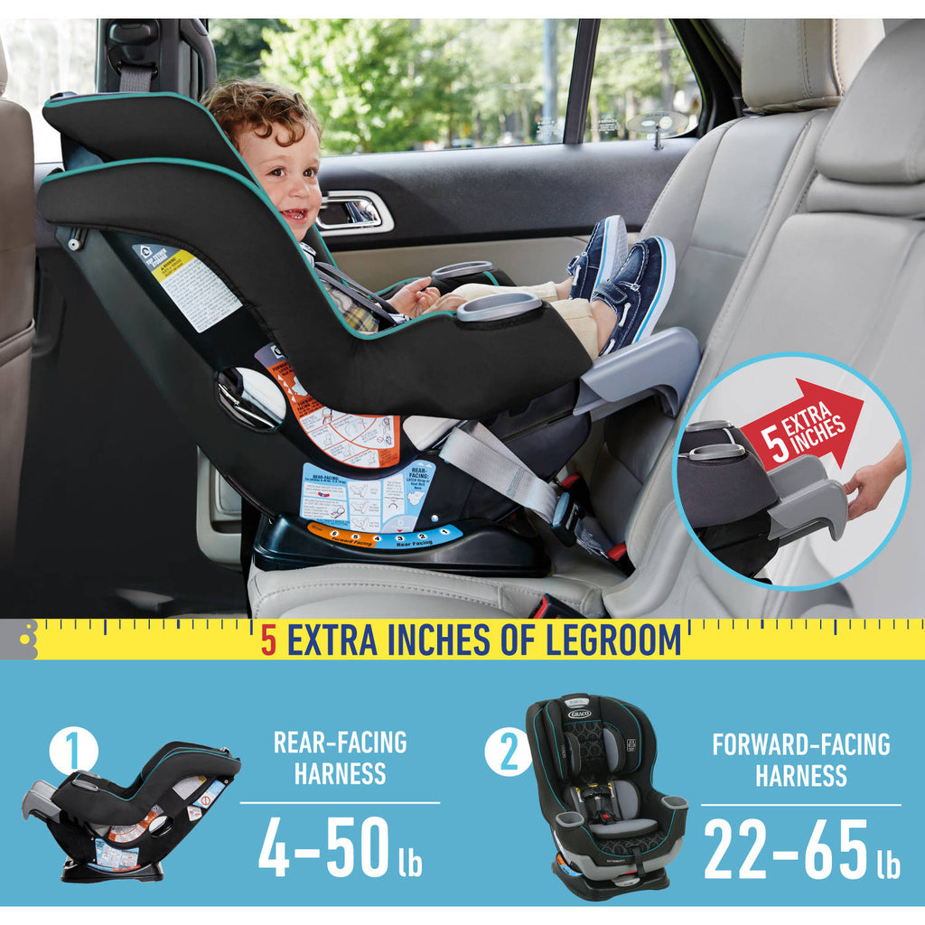Extend2Fit 3in1 Convertible Car Seat