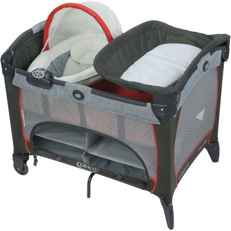 Graco - Pack 'N' Play Newborn Napper DLX Solar Collection