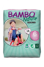 Premium Baby Diapers, Size 6 Pants (18+kg)