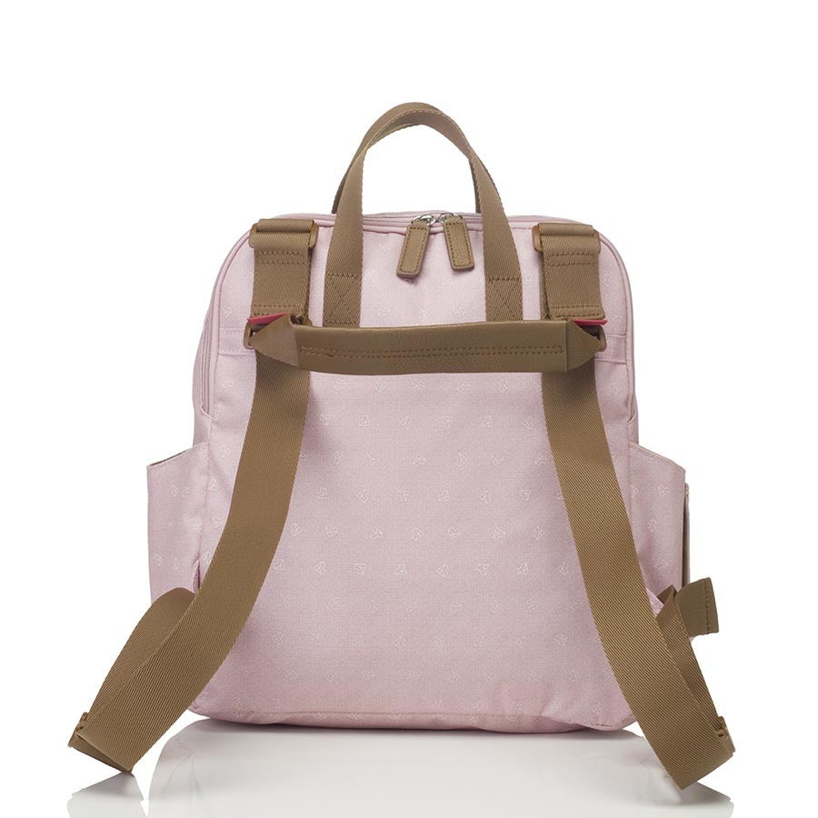 Robyn Convertible Backpack - Origami Heart Dusty Pink