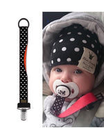 Pacifier Clip - Rockabilly Dot ON CLEARANCE