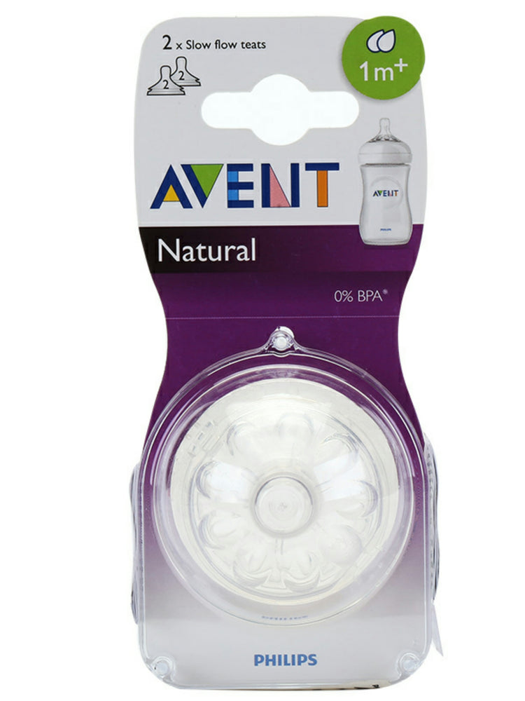 Avent Replacement Teats - Natural ( 1m+)